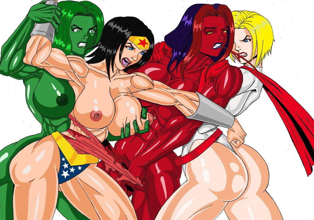 she red hulk vs hulk Undyne and alphys