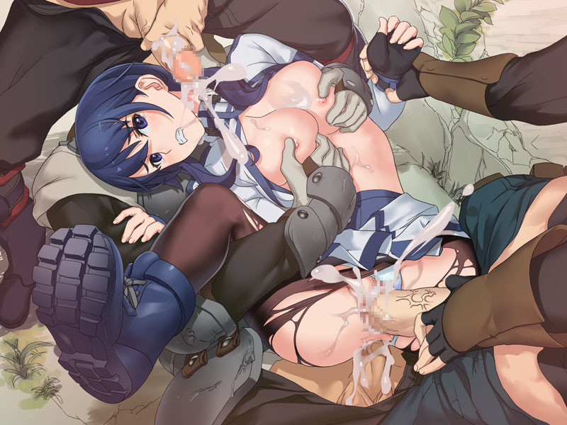 ass to gensou grimgar hai no Redheads with green eyes nude
