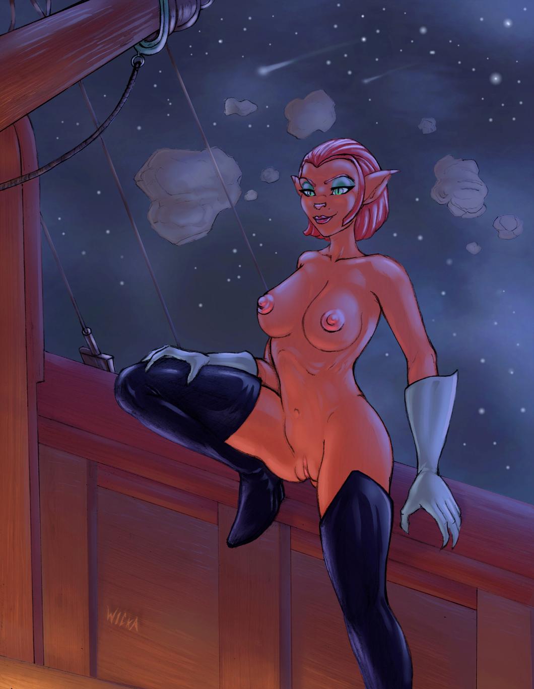 amelia planet treasure captain hentai Five night at sonic 4