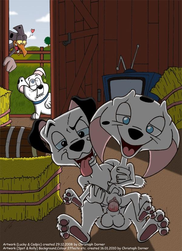 cadpig the series dalmatians 101 Tensei shitara slime datta ken shuna