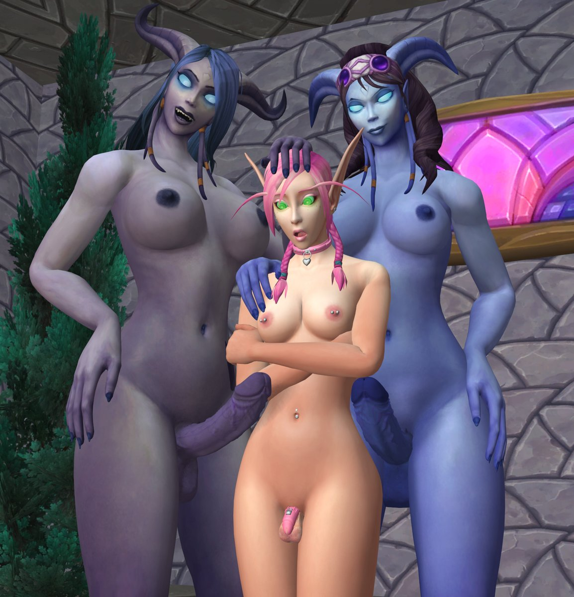 elf of world warcraft ears A picture of toy chica