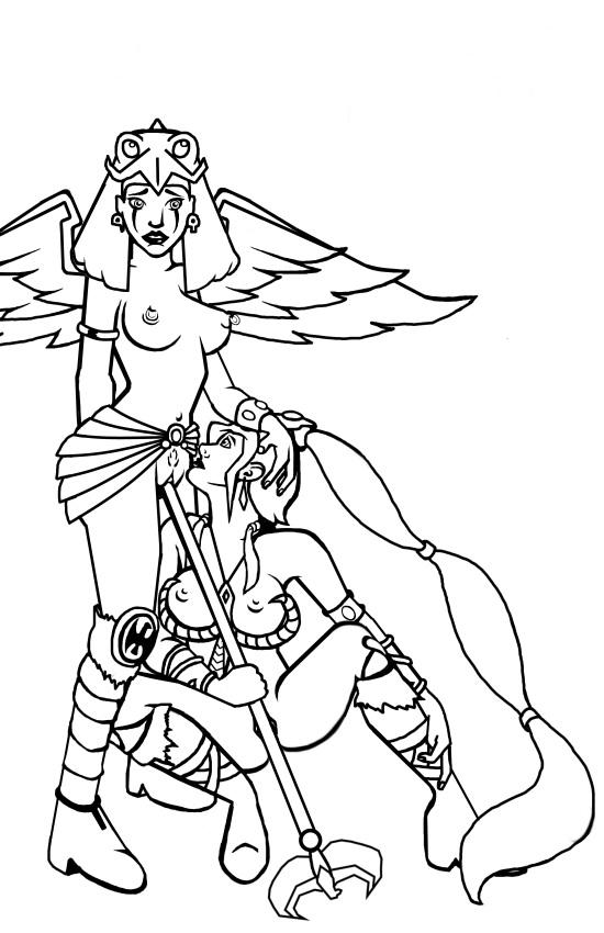 einherjar blesser master of the porn of & ragnarok Lara croft fuck by horse