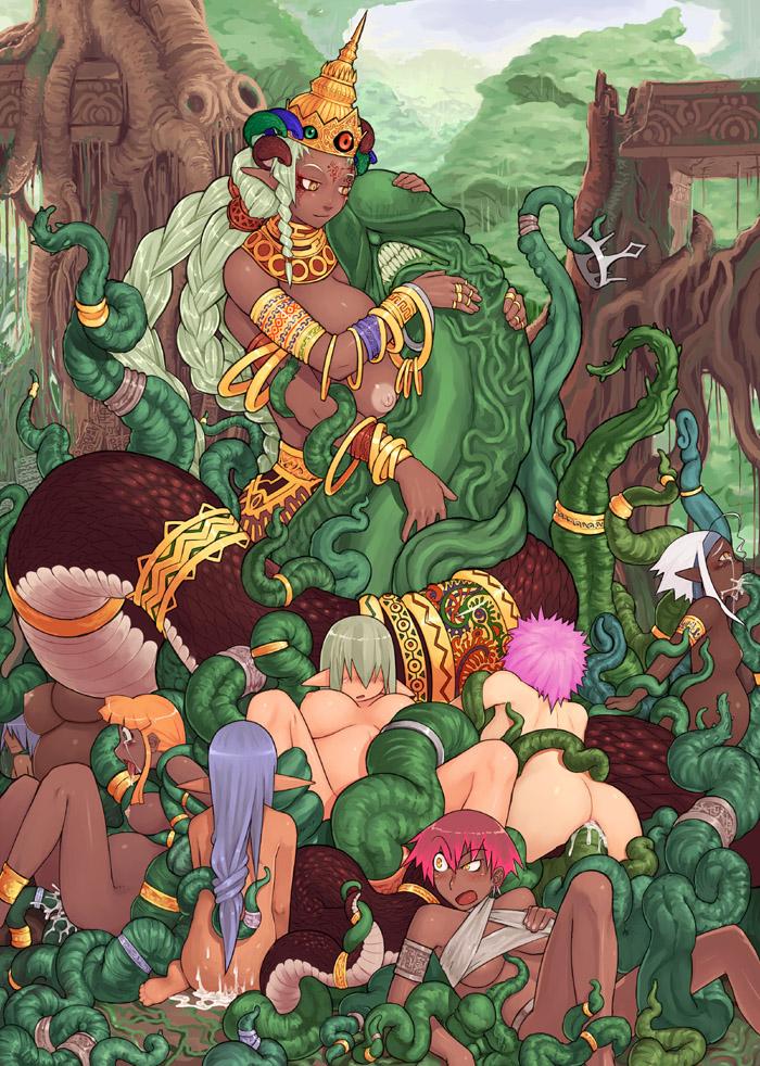 megami harlot shin mother tensei Dragon ball super girls naked