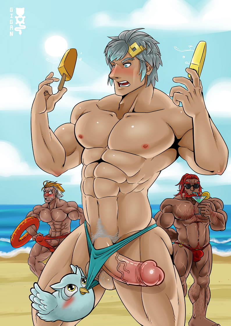 fire swimsuit emblem robin heroes Ding-a-ling wolf