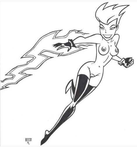 the superman series animated volcana 707 (mystic messenger)