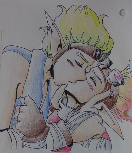jak daxter black eyes and Aphrodite god of war 3 hot