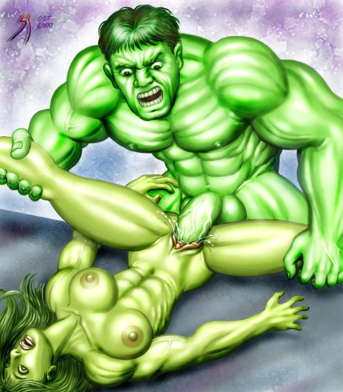 she red hulk hulk vs Danny phantom milfing the flames