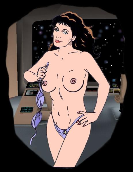 star trek generation next nude Yuragi sou no yuuna san