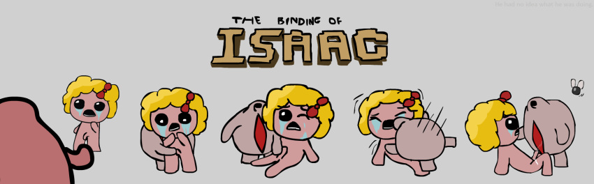 isaac the delirium binding of Fluttershy and rainbow dash anime