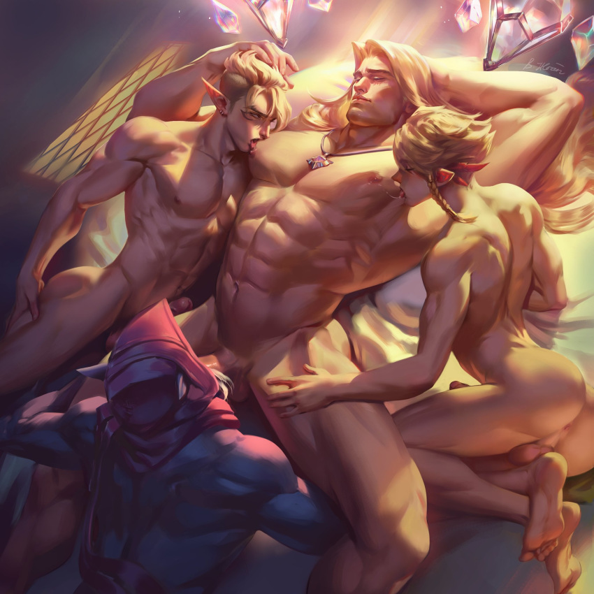 league legends of porn gay Shinsei futanari idol: dekatama kei