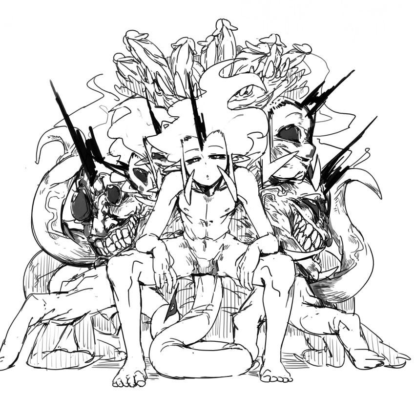 black white and giorno giovanna Code vein queen's rib cage