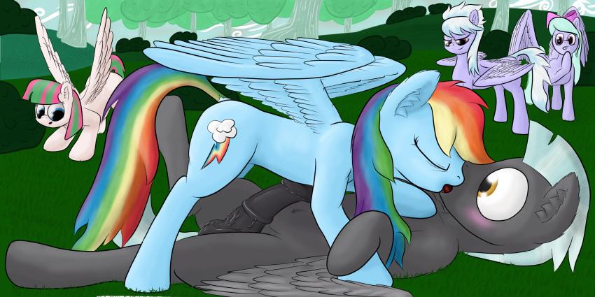 rainbow kissing twilight dash and Fight ippatsu! juuden-chan!