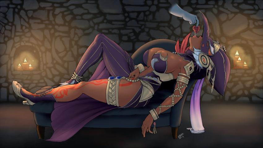 zelda voice legend pols of Fate grand order scathach bikini