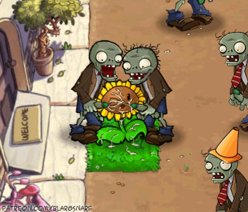 de 2 vs zombies dibujos plantas Bat fist of the north star