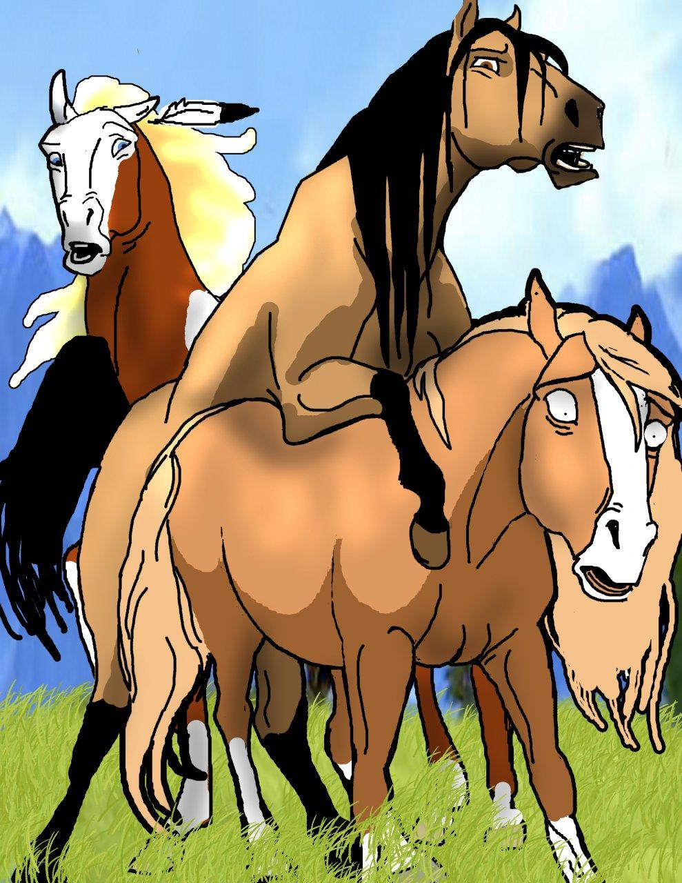 stallion spirit cimarron rain of spirit and the Senpai no yume wo minai