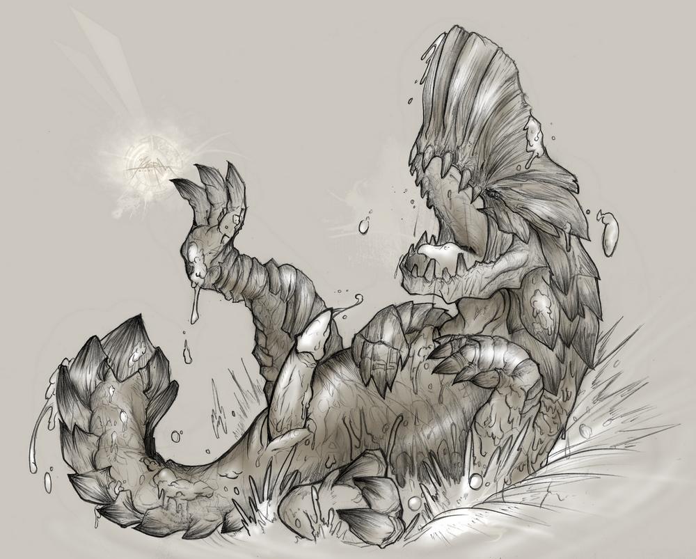 life monster hunter endemic world Talking cat rick and morty