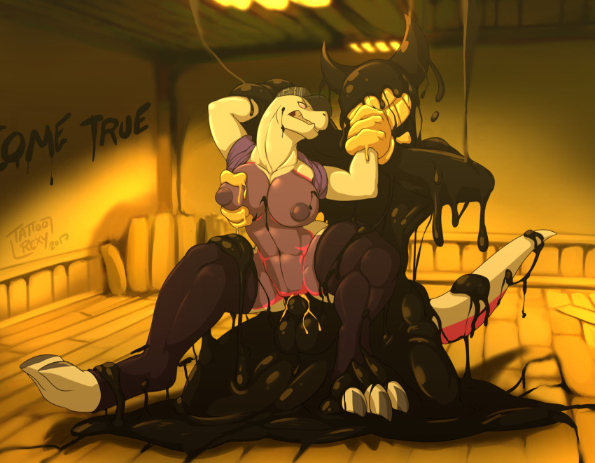and porn machine bendy ink the gay Legend of queen opala animation