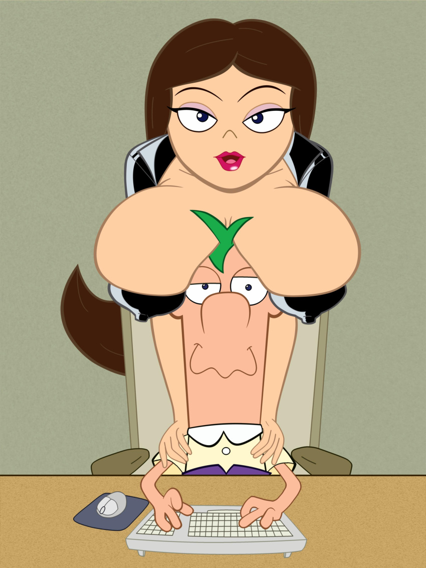 vanessa nude phineas ferb and Mass effect 3 traynor shower